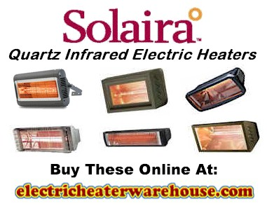 Solaira Quartz Infrared Radiant Heaters