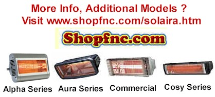 Solaira Quartz Electric Heaters
