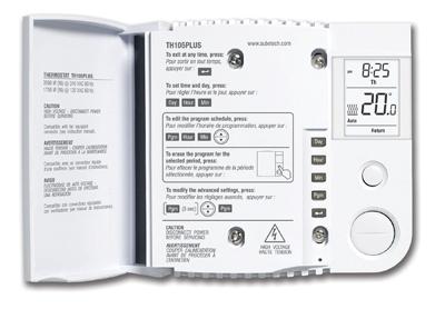 honeywell aube th105plus programmable thermostat