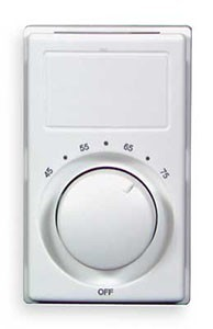 Qmark M602w Double Pole Wall Mount Thermostat 22 Amps