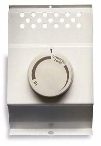 cadet btf1w baseboard heater thermostat single pole white fits cadet 120 208 240 volt. Black Bedroom Furniture Sets. Home Design Ideas