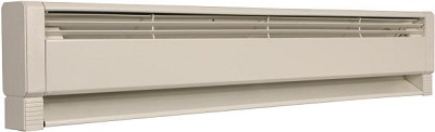 Qmark HBB1504 Electric Hydronic Baseboard Heater - 1500 Watts; 5120 Btu; 240 / 208 Volts; 70
