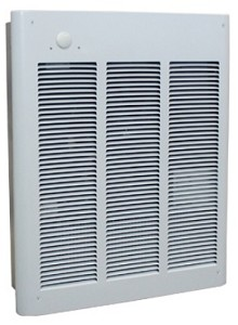 Qmark LFK151F 120 volt, 1500 Watt, 5120 Btu Fan Forced Wall Heater - 5 Year Warranty