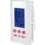 King ATMOZ1-240-WIFI Programmable Single Pole Line Voltage Thermostat - 208/240 VAC - 16 Amps