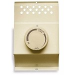 Cadet BTF2A Baseboard Heater Thermostat - Double Pole - Almond - Fits Cadet 120 / 208 / 240 volt baseboard heaters