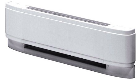 "Dimplex LCM7520W31 Linear Convector Baseboard Heater - 208/240 volts, 1500/2000 watts, 75"" Length - White - 10 Year Warranty"