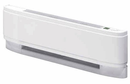 "Dimplex LPC2507W31 Linear Proportional Convector High Performance Premium Quality Residential Electric Baseboard Heater - 240 volt, 750 Watt, 25"" Length - White - 10 Year Warranty"