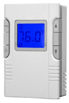 King Electric HP30 Two Circuit Programmable Electronic Wall Thermostat - 16 amps per pole - 120/208/240 VAC
