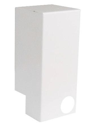 Qmark ICANW Inside Corner - Northern White - For 2500 / QMKC Series Baseboard Heaters