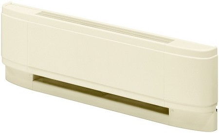 "Dimplex LCM902531 Linear Convector Baseboard Heater - 208/240 volts, 1875/2500 watts, 90"" Length - Almond - 10 Year Warranty"