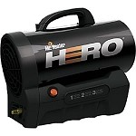 Mr. Heater MH35CLP 35,000 Btu Battery Powered Cordless Forced Air Portable Propane Heater