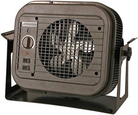 Qmark MUH35 Compact Electric Unit Heater, 208 / 240 Volts, 3800 - 5000 Watts; 5 Year Warranty