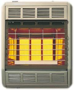 Empire SR10TWLP 10,000 Btu Radiant Vent Free Propane (LP) Space Heater With Thermostat