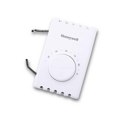 T410A1013 Honeywell Line Voltage Non-Programmable Thermostat - SPST