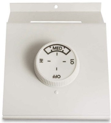 Qmark TA2ANW Double Pole Thermostat - For 2500 / QMKC Series Heaters- Rating: 22 amp, 120 - 277 volts - Northern White
