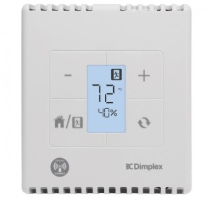 CST-240 Dimplex Smart Thermostat - 240 VAC Line Voltage Control - 4000 watts - 16.7 amps