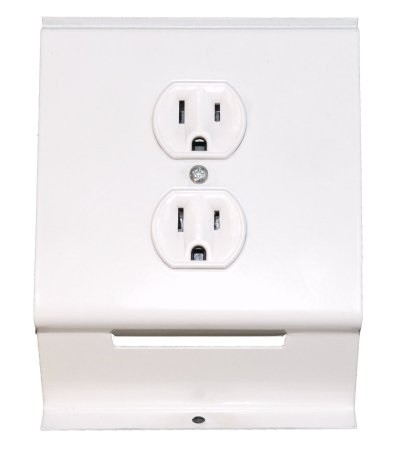 Qmark RA1NW 120 Volt Receptacle - for 2500 Series Baseboard Heaters
