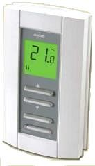 TH114-A-240S (TL7135A1005) Honeywell Aube Single Pole Non Programmable Thermostat - Rating: 240/60 VAC, 16.7 amps
