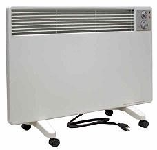 Qmark / Marley WPC1500 Radiant Convection Portable Panel Heater - 120 volts; 3 heat ranges